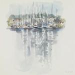 Yachthafen Lindaunis